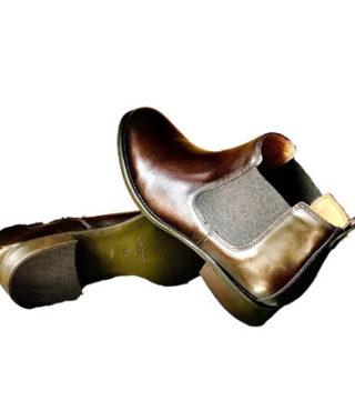 Bottines montantes cuir élastique Gabor