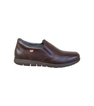 Chaussures de ville élastique cuir